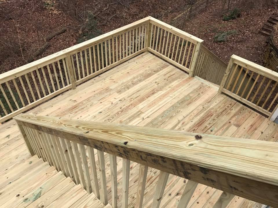 Deck and Fencing Installation | R Contracting Services - Home Remodeling and Renovations - Creating Curb Appeal Around Atlanta