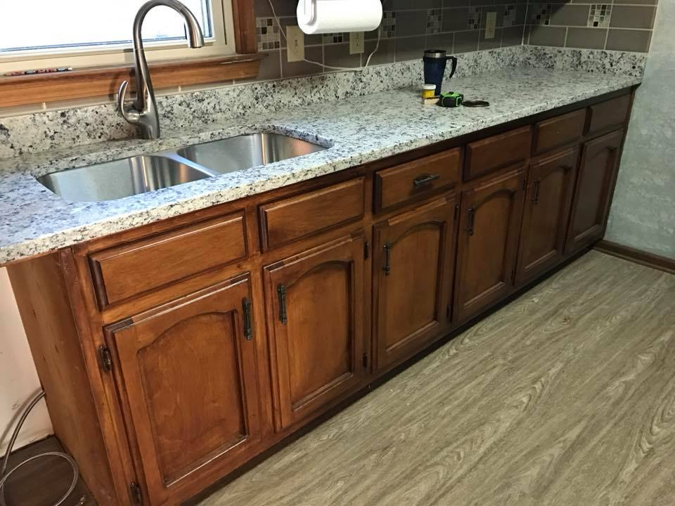 Granite Countertops | R Contracting Services - Home Remodeling and Renovations - Creating Curb Appeal Around Atlanta