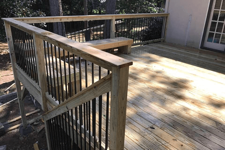 Deck and Privacy Fenc Installation | R Contracting Services - Home Remodeling and Renovations - Creating Curb Appeal Around Atlanta