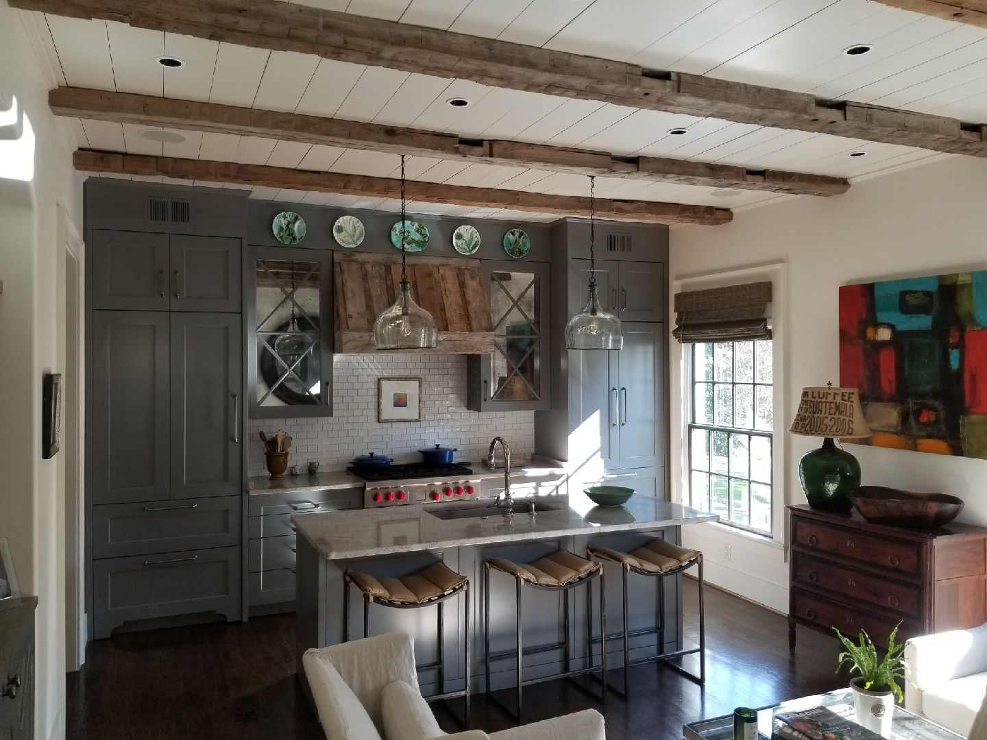 Farmhouse Kitchen Renovation | R Contracting Services