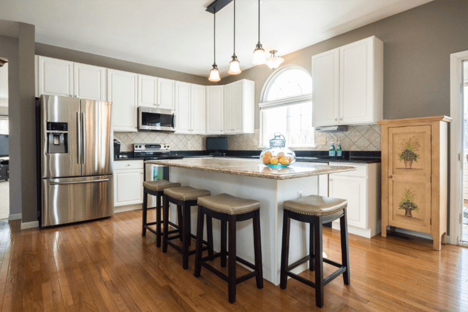 Professional Kitchen Painting - R Contracting Services