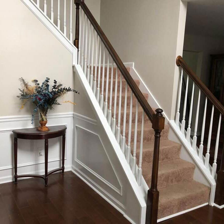 Staircase Remodel After | R Contracting Services
