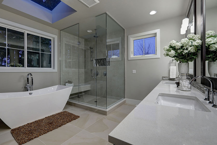 Professional Bathroom Remodeling from R Contracting Services