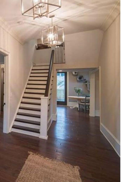 Stairs and Hallway Painting by R Contracting Services