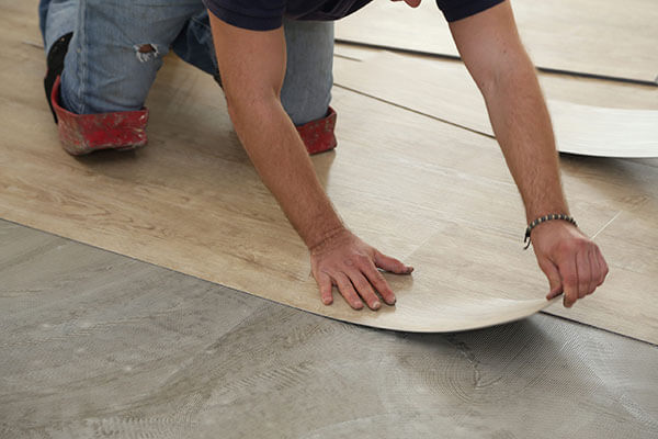 LVP Luxury Vinyl Plank Floor Installation | R Contracting Services - Home Remodeling and Renovations - Creating Curb Appeal Around Atlanta